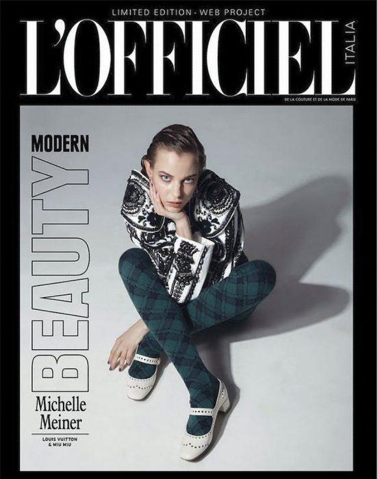 Lofficiel Italia Julio Bárcena fotógrafo - Cover