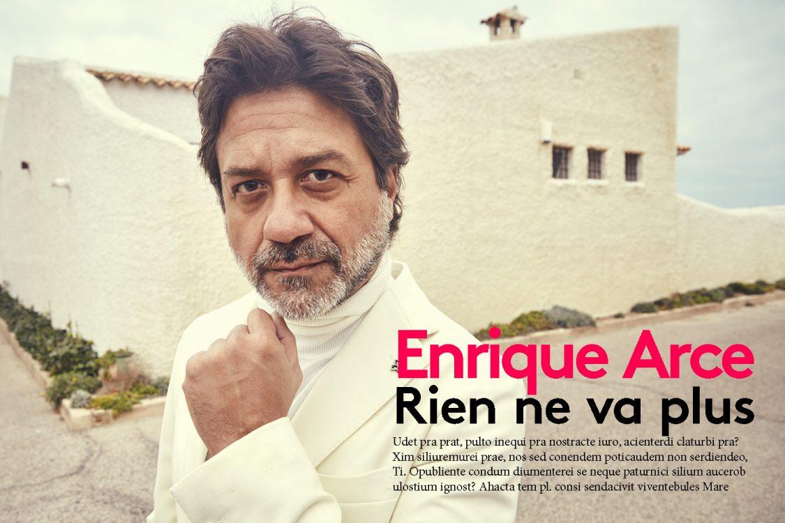 ENRIQUE ARCE | GQ