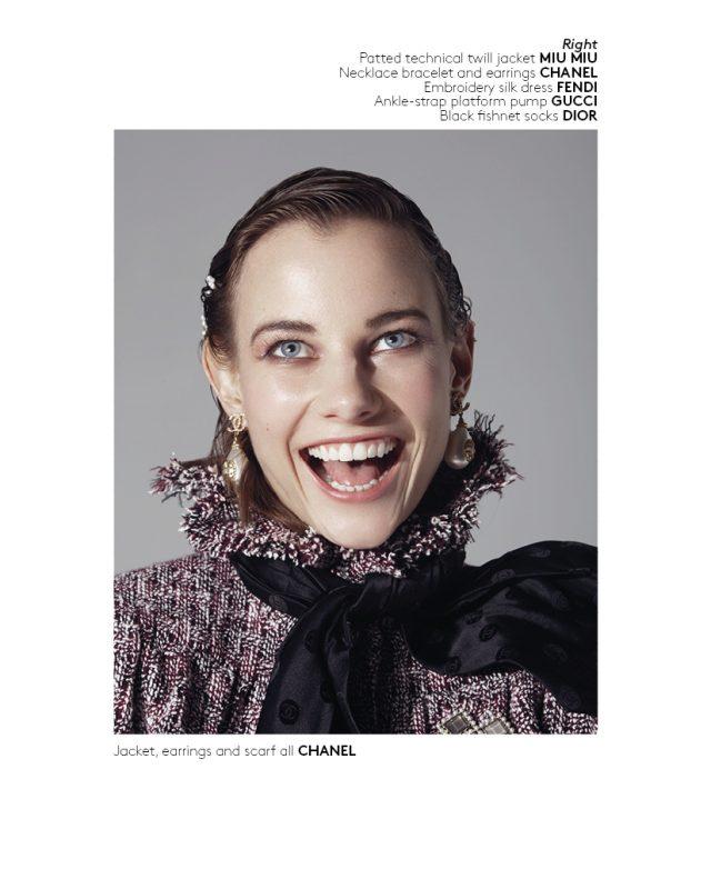 Lofficiel Italia Julio Bárcena fotógrafo - crazy smile